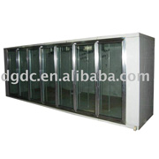 display freezer/ cold storage / cold room